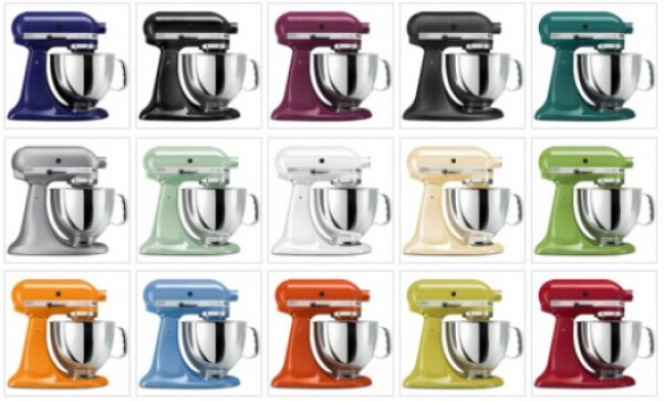 Kitchenaid Artisan Stand Mixer Colors ~ Robot da cucina kitchenaid artisan ksm pseca